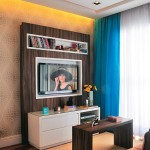 3-mini biblioteca suport tv ecran plat living modern
