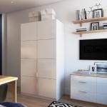 3-mobila alba minimalista decor garsoniera mica moderna 19 mp