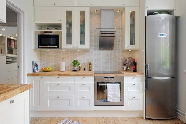 3-mobila moderna bucatarie confectionata din lemn masiv