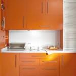 3-mobila portocalie bucatarie moderna 11 mp