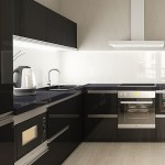 3-mobilier si electrocasnice negre bucatarie moderna minimalista