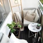 3-model amenajare loc de relaxare pe un balcon mic si ingust descoperit