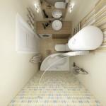 3-model combinare finisaje baie moderna mica cu masina de spalat