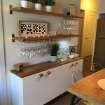 3-model idee minibar polite perete bucatarie