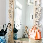 3-model oglinda mare de pardoseala cu rama sculptata din lemn stil roccoco