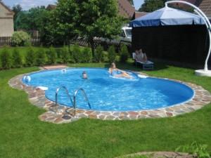 3-model piscina ingropata din fibra de sticla bordura placata cu piatra naturala