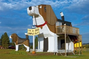 motel in forma de caine beagle idaho sua