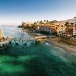 3-o plaja din orasul Puerta Vallarta Mexic