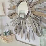 3-oglinda DIY cu rama confectionata din bucati de lemn uzat