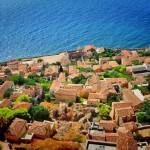 3-orasul vechi cu o singura intrare cetatea Monemvasia