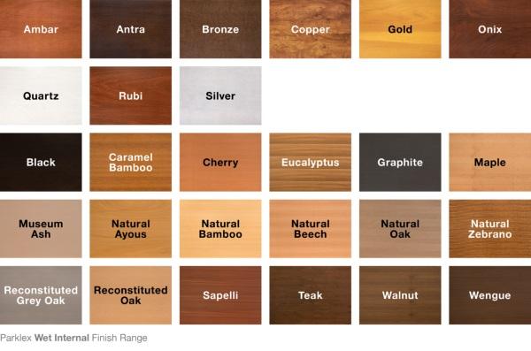 paleta cromatica panouri lemn stratificat
