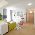 3-parchet si usi de interior bej deschis decor apartament cu 3 camere