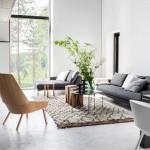 3-pardoseala decorativa din beton slefuit in amenajarea unui living scandinav