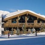 3-partie schi cabana la bergerie cota 1850 alpi franta