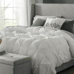 3-pat dormitor cu perne cu umplutura din fulgi