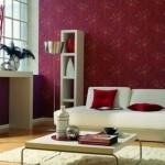 3-perete grena living modern cu mobila de culoare alba