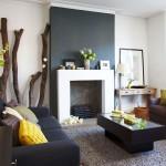 3-perete si canapea gri carbune living minimalist modern