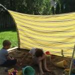 3-pergola handmade protectie groapa cu nisip copii