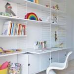 3-scaun cu spatar rigid si design ortopedic pentru biroul din camera copilului