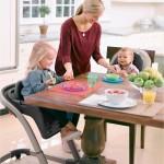 3-scaune de masa bebe fara tavita