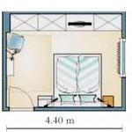 3-schita plan amenajare dormitor modern