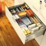 3-sertare de bucatarie compartimentate pentru organizarea alimentelor neperisabile