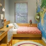 3-solutii de amenajare pe lung a unui dormitor pentru copii sau tineri