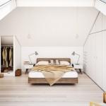 3-spatii de depozitare ergonomic proiectate amenajare dormitor mdoern mansarda