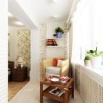 3-spatiu de relaxare si loc de lectura amenajat in balconul unit cu dormitorul