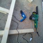 3-stacheti din lemn constructie loc de joaca pentru copil