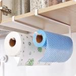 3-suporturi pentru prosoape de hartie cu montare pe partea inferioara a dulapurilor de bucatarie
