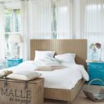 3-textile dormitor modern cu influente eco rustice
