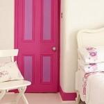 3-usa de interior roz decor dormitor sau camera fetita