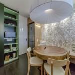 3-usa de intrare alba lucioasa bucatarie moderna cu accente eco urbane