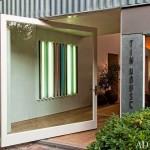 3-usa de intrare in casa actorului Patrick Dempsey din serialul Anatomia lui Grey