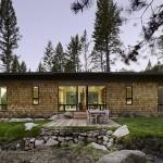 3-vedere spate casa moderna design simetric fara etaj 88 mp