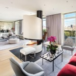 3-vedere spre Central park din livingul apartamentului de 56 milioane a cantaretului Sting