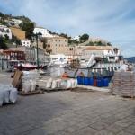 36-materiale de constructie aduse in port insula Hydra Grecia