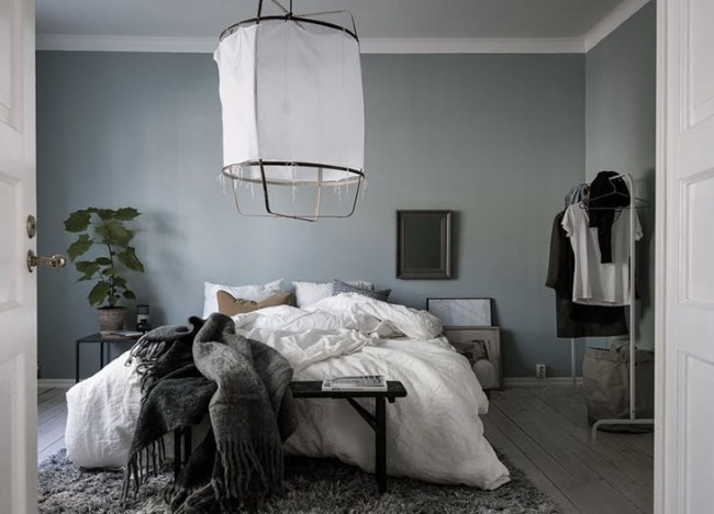 4-Dormitor scandinav zugravit in gri