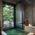 4-amenajare baie spa acasa cada ingropata in pardoseala