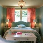 4-amenajare dormitor mic si ingust cu pat is mic spatiu de lucru