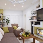 4-amenajare living modern lung si ingust accente clasice