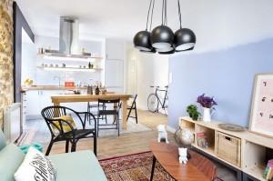 4-apartament luminos modern 55 mp cu doua dormitoare si living