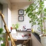 4-atelier de lucru sau hobby room amenajat intr-un balcon de apartament
