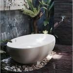 4-baie foarte frumoasa amenajata cu lemn si pietre