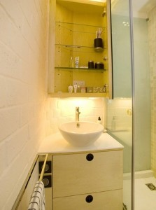 4-baie foarte mica moderna configurata ergonomic