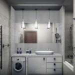 4-baie moderna finisata in alb si nuante deschise de gri
