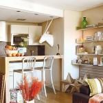 4-bar mic dejun bucatarie moderna apartament Madrid