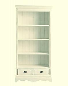 4-biblioteca alba lemn vintage model english breakfast magazin decovintage
