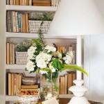 4-biblioteca din gips carton decor living amenajat in stil rustic mediteranean